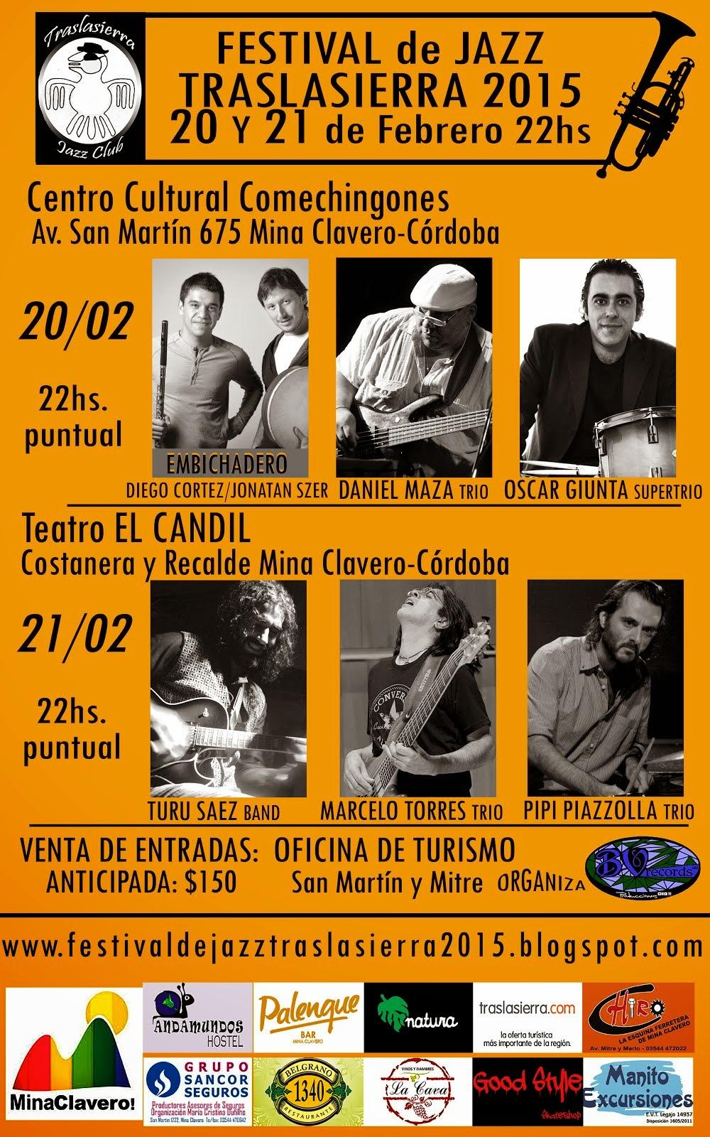 Festival de Jazz TRASLASIERRA 2015
