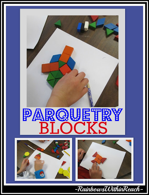 photo of: Making Math Meaningful: Parquetry Blocks in Elementary School