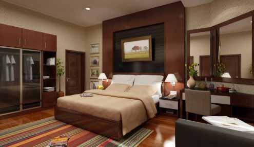 Desain kamar tidur yang sederhana