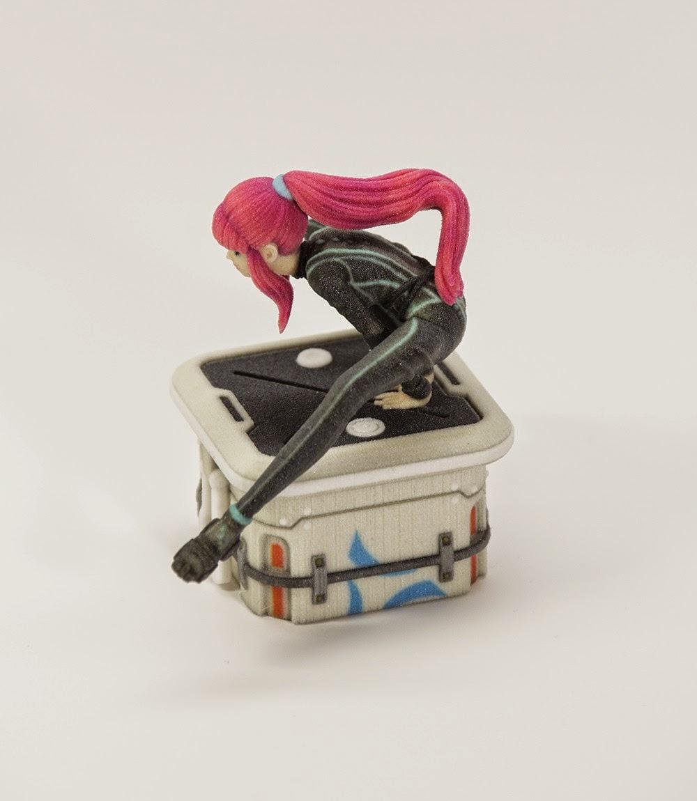 Keiko 6 3D Print - Petit