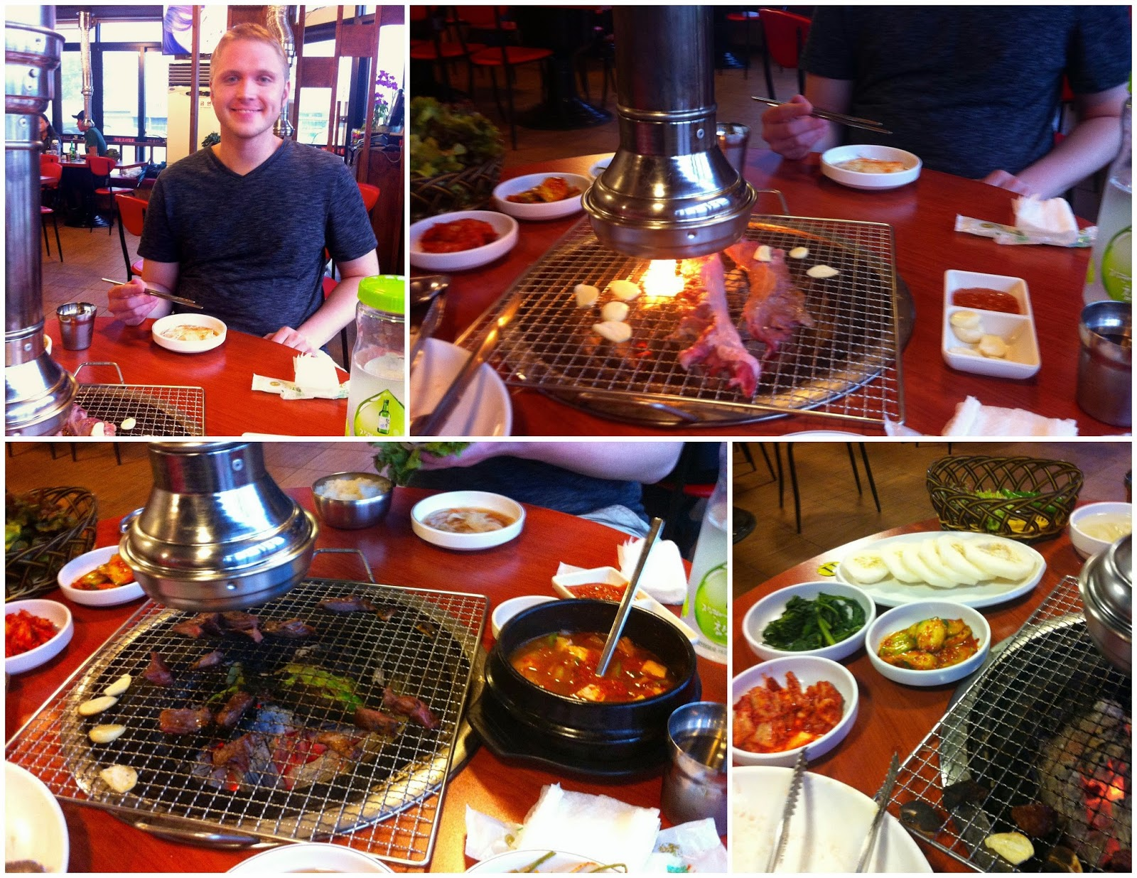 how to make a korean barbecue table