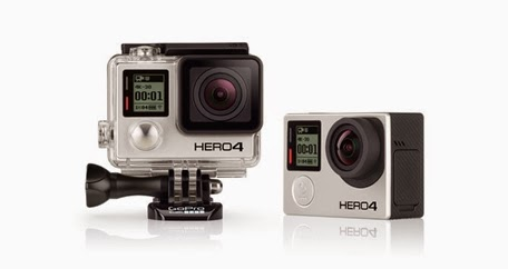 GoPro Hero4 Black Shoots 4K Video at 30 fps