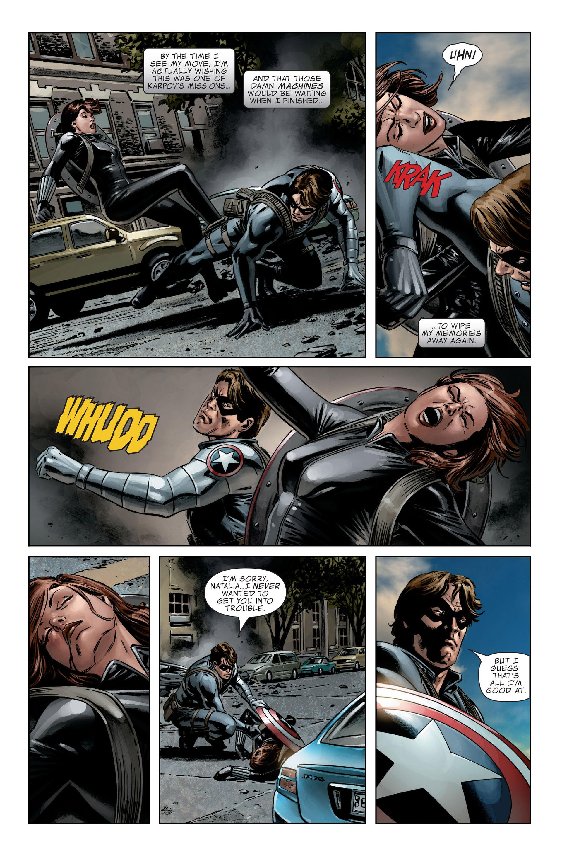 Captain America (2005) Issue #27 #27 - English 19