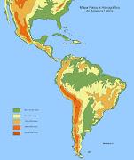 Mapas, mapas y más mapas america relieve