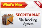 secretariat file tracking