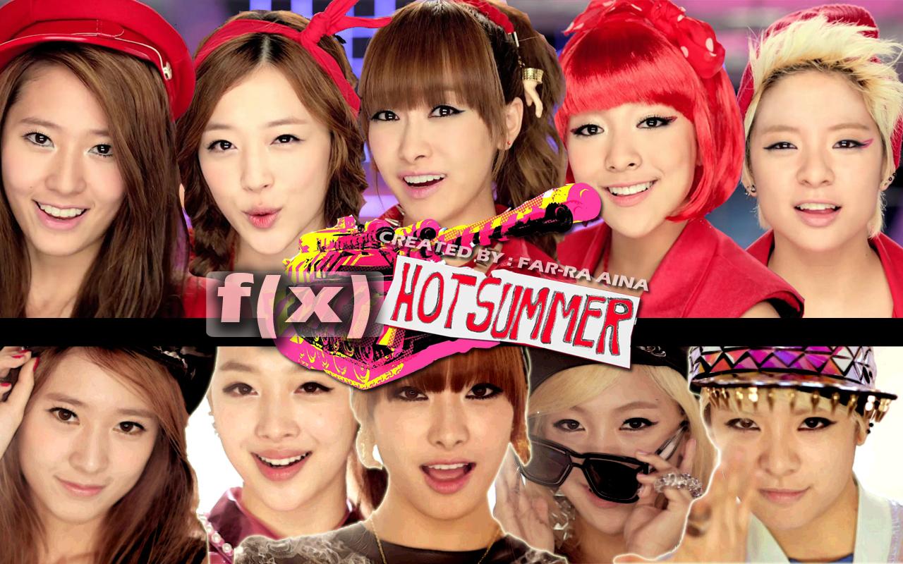 hot hot hot hot summer hot hot hot hot breathe hot hot hot hot summer    Fx Sulli Hot Summer