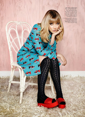 Imogen Poots HQ Pictures Flare Canada Magazine Photoshoot March 2014