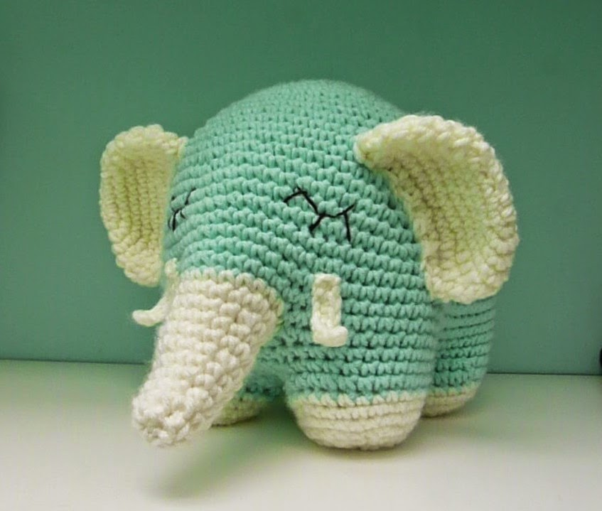 Sweet Elephant - mi versión | Proyectos Artesanal