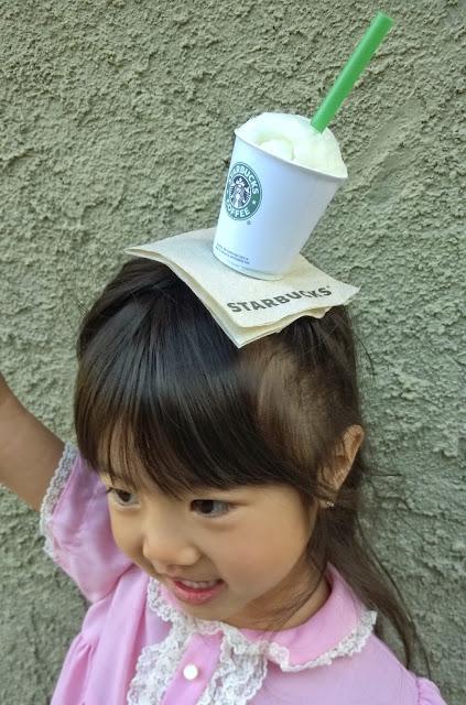 diy mini starbucks hat for crazy hat day
