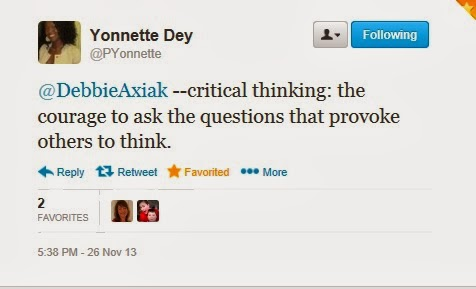 critical thinking an extended definition education