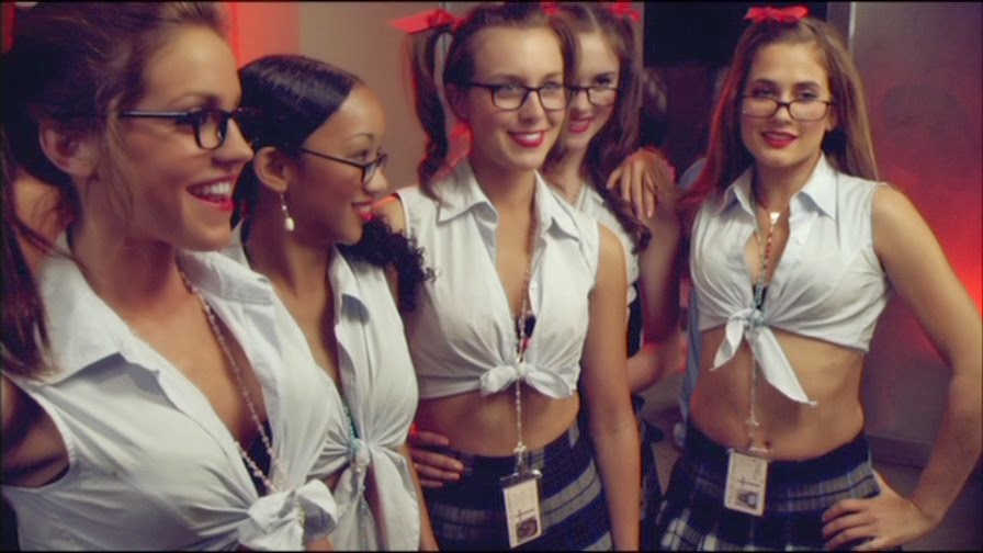 Catholic School Girls in glasses