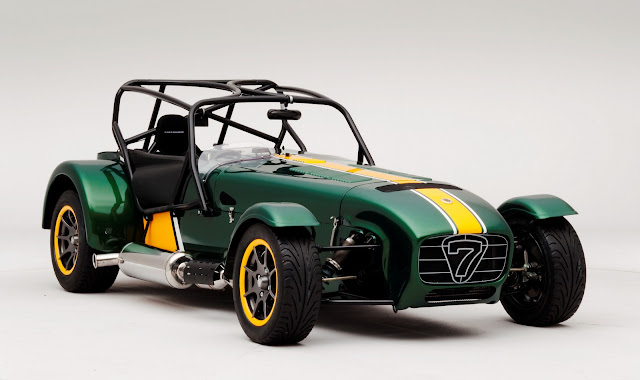 Caterham Seven Team Lotus Special Edition Photos and Video