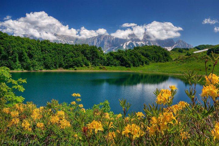 Горные пейзажи фото  photosfloweryru
