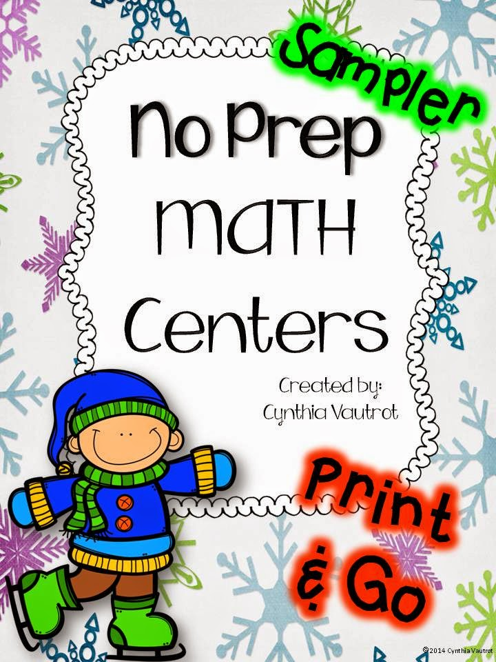 http://www.teacherspayteachers.com/Product/No-Prep-MATH-Centers-for-January-FREE-Sampler-2nd-4th-1616410/