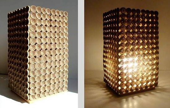 Creativity creative cardboard lamps for Decorative things