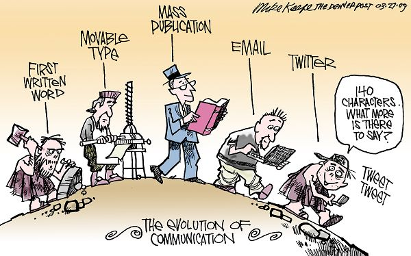 Evolusi Komunikasi dari Zaman Batu Hingga Era Internet