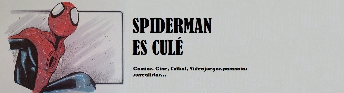 Spiderman es Culé