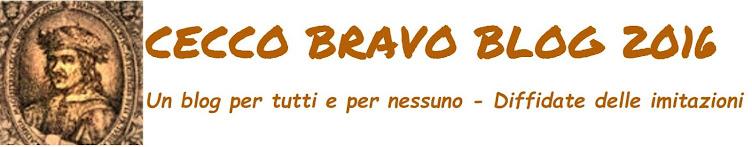 CECCO BRAVO BLOG 2016