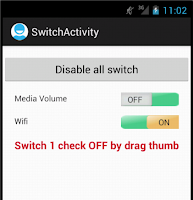 Android Custom Switch Control