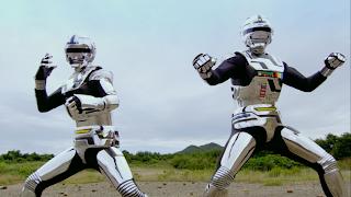 Space Sheriff Gavan Retsu Geki Team Up