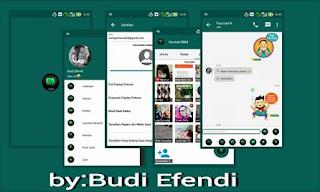 BBM MOD GREEN MINIMALIST V2.10.0.30 APK