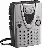 Sony TCM-400DV tape cassette recorder