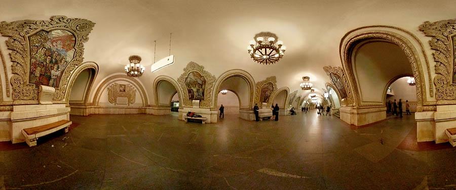 Bizce en iyisi kesinlikle moskova metrosu temizliği görkemli