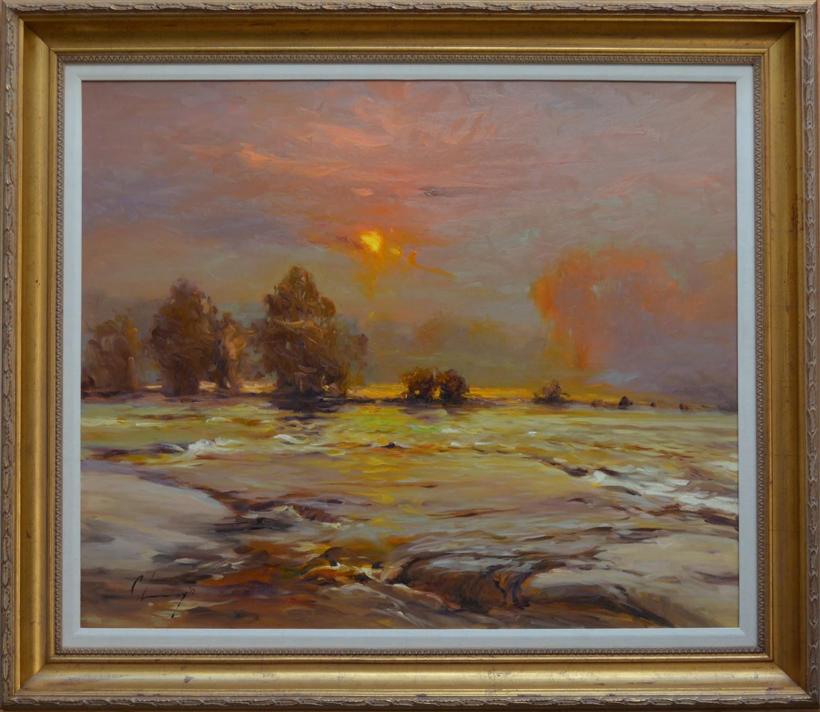 Chuck Larivey OPA, Oil Painter: October 2013