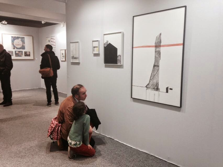 Domestication vs pleine lune drawing now salon du dessin contemporain paris - Salon dessin contemporain ...