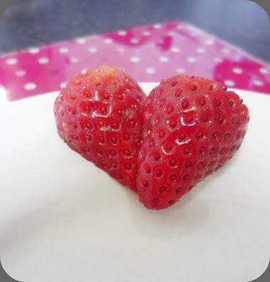 Strawberry Love Heart