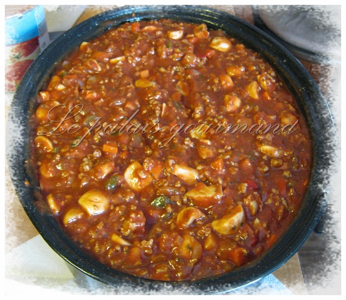 Sauce spaghetti d'Annie