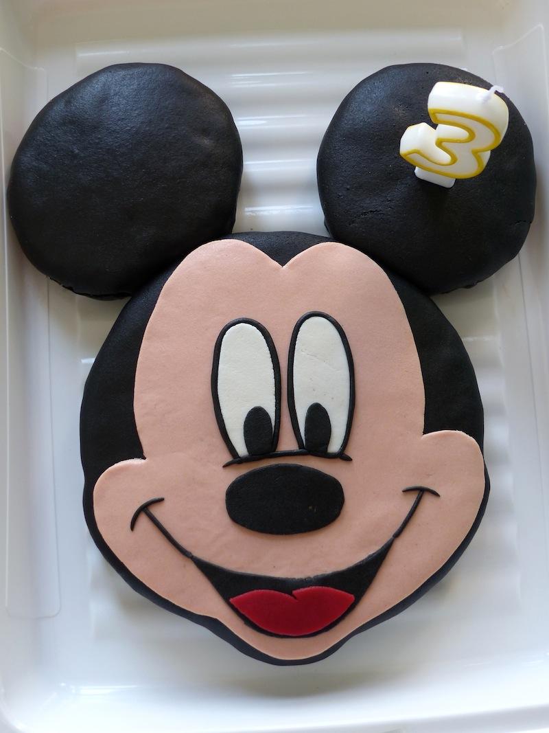 Hervorragend Gâteau Mickey au chocolat! | Recettes pour mon bentô FG45