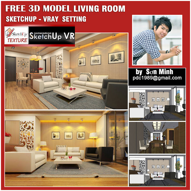 8_sketchup_model_living room-#7_cover