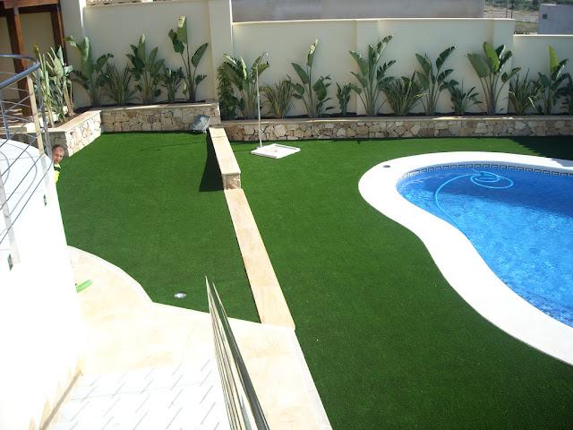 Césped artificial | jardín en perfecto estado y sin esfuerzo