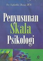 toko buku rahma: buku PENYUSUNAN SKALA PSIKOLOGI, pengarang saifuddin azwar, penerbit pustaka pelajar