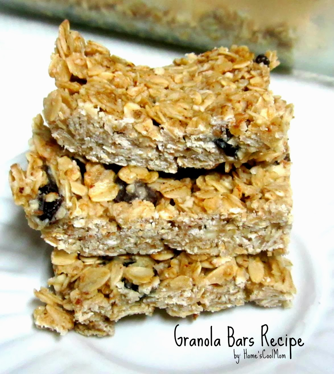 SuperRecipes~Granola Bars (Gluten free, Egg Free, Corn Free) ~ Super ...