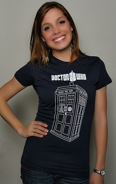 Doctor Who Tardis Vector Tee