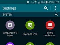Cara Mengaktifkan USB Debugging Samsung Galaxy S5