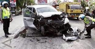 terjadi kecelakaan lalulintas