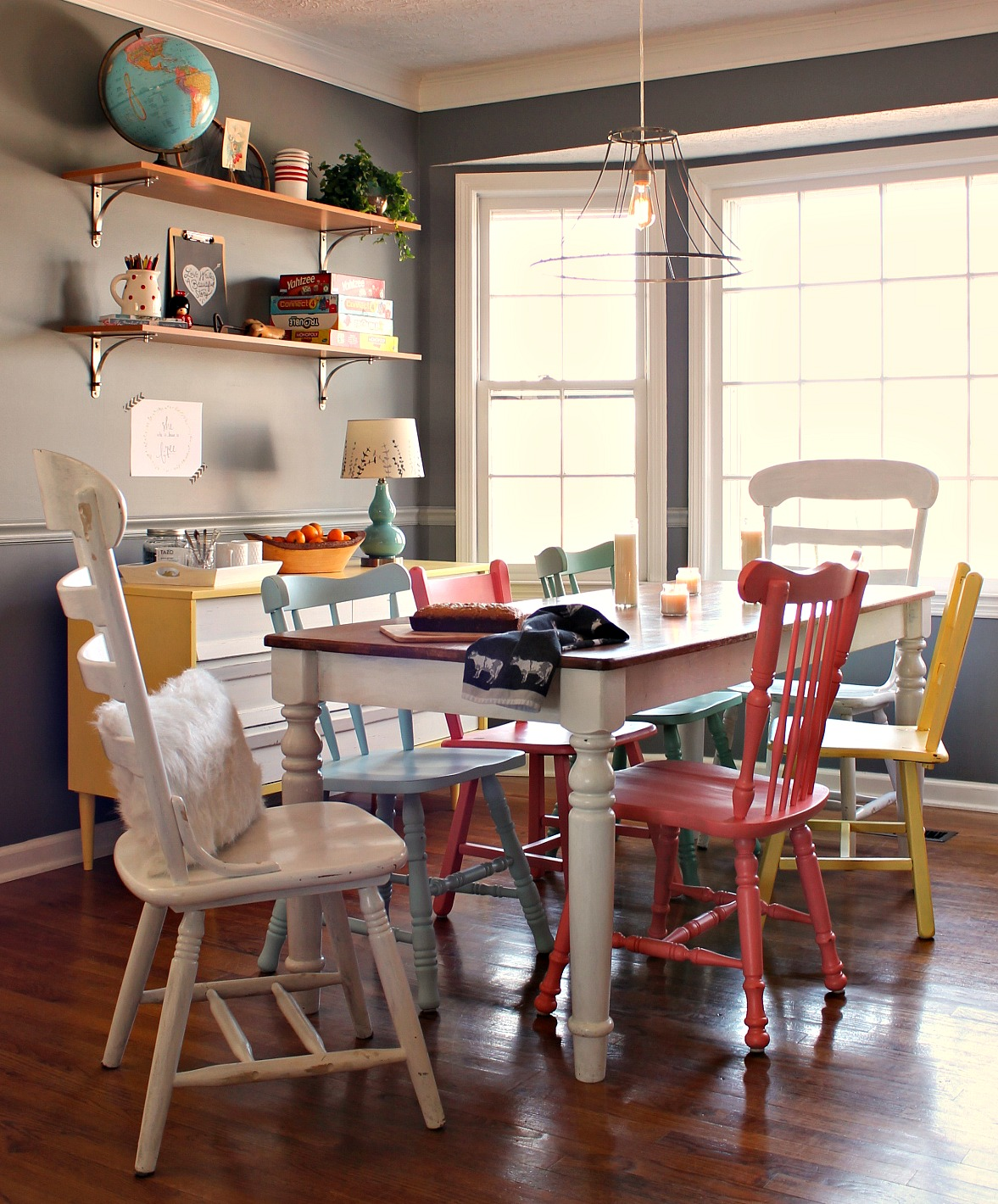 the little farm diary decorating with color a dining room st