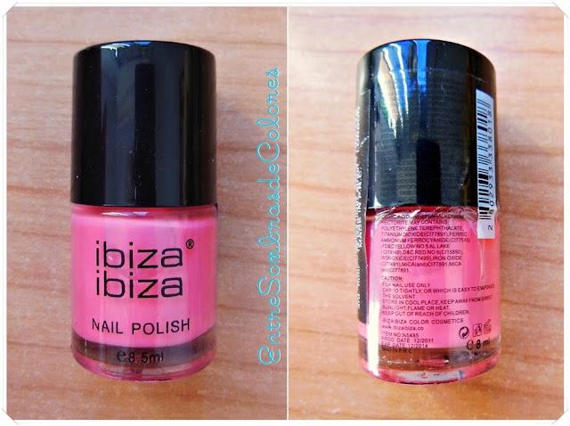 esmalte uñas rosa Ibiza ibiza
