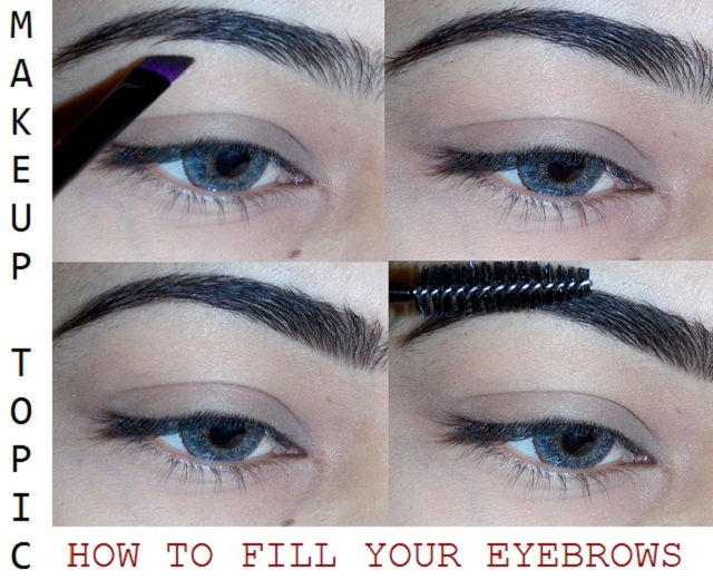 How I Fill My Eyebrows Step By Step Tutorial Indian Beauty Forever