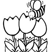 Primavera para colorear dibujos para colorear de la primavera crop