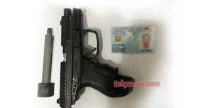 Thumbnail image for Amir Ukays Ditangkap Miliki Senjata Api (Pistol)