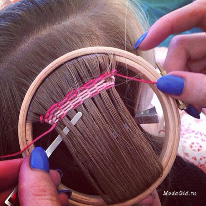 Нитки для вплетения в волосы