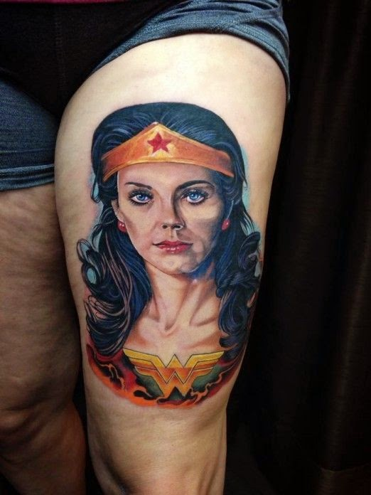 Wonder Woman Tattoo Ideas Pin wonder woman tattoo on pinterest Wonder Woman Wrist Tattoo Designs