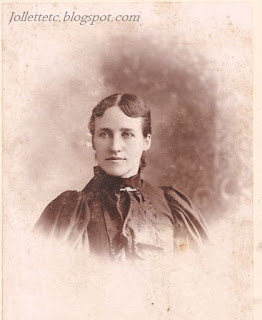 Mary Frances Jollett Davis about 1890