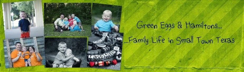 Green Eggs & Hamiltons...