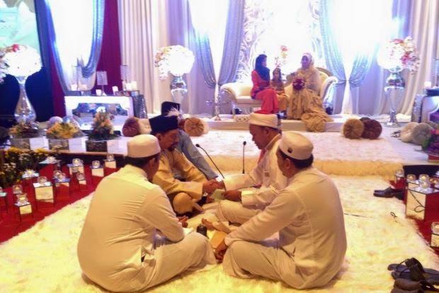 Gambar Majlis Nikah A Rahman Hassan Dan Fadillah Mansor 25 Dis 2014