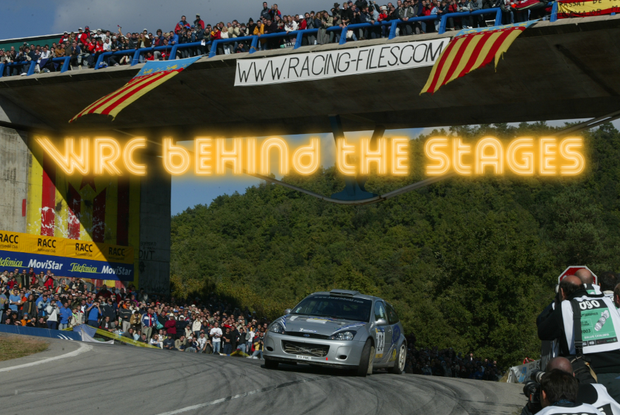 WRC Behind The Stages